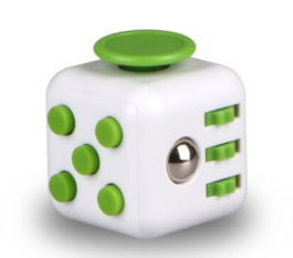 Fidget Cube - White/Green