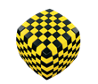 V-CUBE 7 Illusion - Yellow